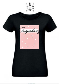 Ingeborg Shirt Black pink