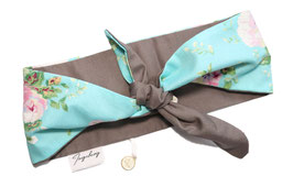 Bandana blue Flower