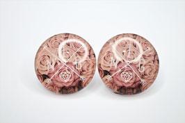 Ohrring Blumen Ingeborg Stripe