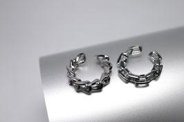 2er Pack Ear-Cuff silver