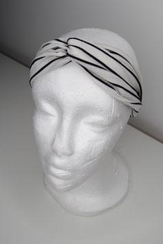 Stirnband Black&White