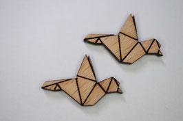 Holz Vögel