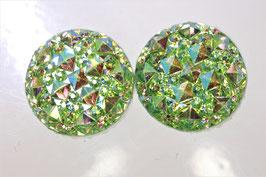 Glitter grün
