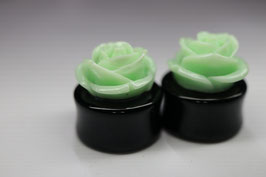 Plug Blume black green