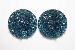 Blue Glitzer Shine
