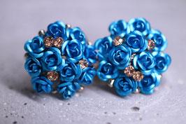 Ohrstecker blue Amy
