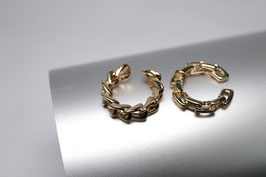 2er Set Ear-Cuff gold