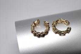 2er Set Ear-Cuff gold