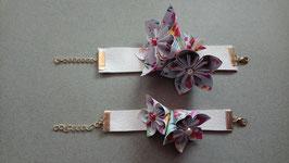 """Atelier DIY, bracelet fleuri origami, édition """"Fruits d'été"""" _ Samedi 15 juin 2019 de 10h à 11h"""