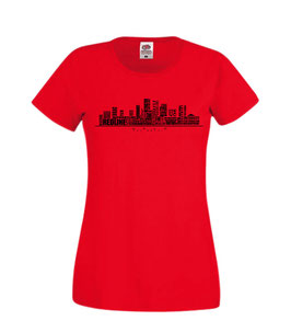 OSLO SKYLINE T-SHIRT LADY-FIT