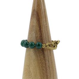 Bracelet *Maillons* | Vert foncé