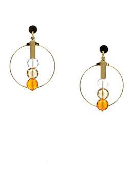 Boucles *Les Jolies   Orange*