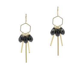 Boucles * Hexagone Small | Noir *