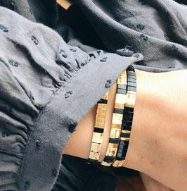 Bracelet *Miyuki | Noir*