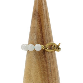 Bracelet *Maillons* | Blanc