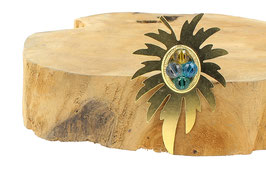 Broche * Palmier | Turquoise *
