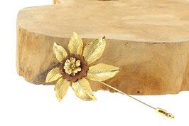 Broche * Flower | Marron *