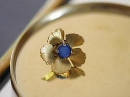 Pin's *Flower | Bleu Mat*