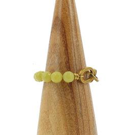 Bracelet *Maillons* | Beige vert
