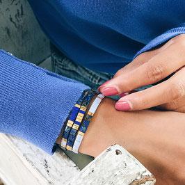 Bracelet *Miyuki | Bleu*