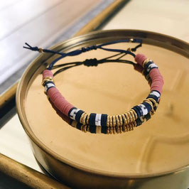 Bracelet Anya - Rose foncé