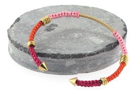 Bracelet Lola | Rose x Orange x Fushia