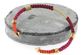 Bracelet Lola | Rouge x Fushia x Orange