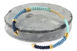 Bracelet Lola | Bleu ciel x Bleu clair x Bleu marine