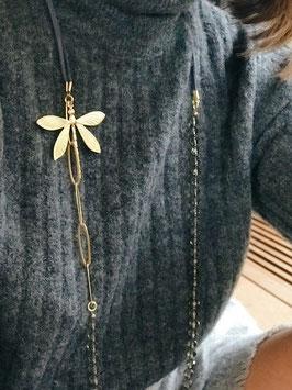 Collier *Libellule | Perles Grege*
