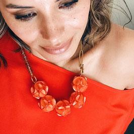 Collier * Tutti Frutti * - Orange