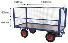Remolque malla 750 kg
