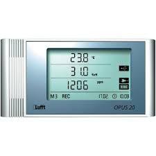 Registrador de Humedad, Temperatura y Dióxido de Carbono. Lufft OPUS 20 TCO