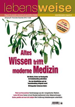 Ausgabe November/Dezember 2012