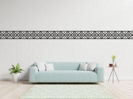 WANDTATTOO-BORDÜRE Aztekisches Motiv I - 5 x 120cm