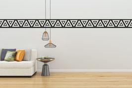 WANDTATTOO-BORDÜRE Polynesisches Motiv - 5 x 120cm