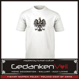 T-Shirt Wappen Polen - Poland
