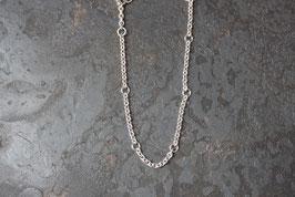 Einfaches Silber Bettelarmband