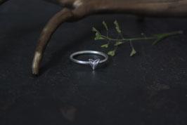 Neu Hirtentäschel Ring mit einem Herz