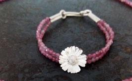 Gänseblümchen Armband mit Turmalin