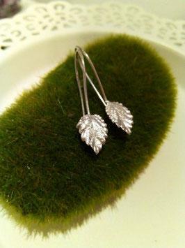 Wandelröschen Blätter Ohrringe Nr. 3