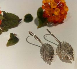 Wandelröschen Blätter Ohrringe Nr. 1