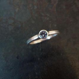 Silber Ring mit Topas