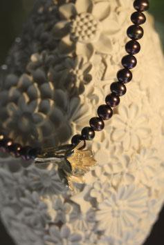 Knoblauch Blüten Collier