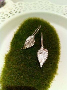 Wandelröschen Blätter Ohrringe Nr. 2