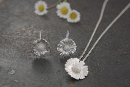 Gänseblümchen Anhänger mit Silberkette