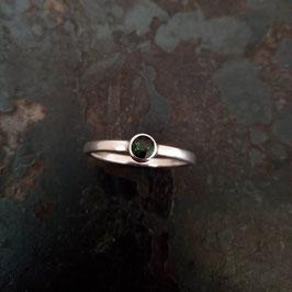 Silber Ring mit Turmalin