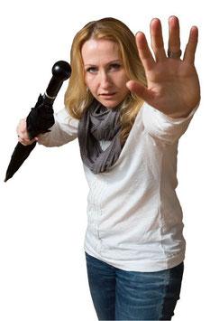 Selbstverteidigungsschirm für Damen