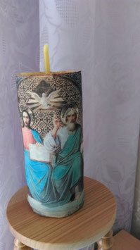 """6Q. Ритуальная свеча молитвы """"Великая Троица"""""""