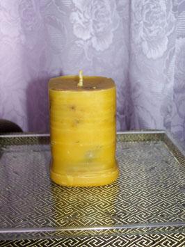 8A. Восковая квадратная свеча без иконы