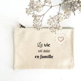Pochette - La vie est belle en famille